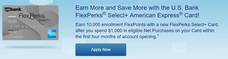 U.S. Bank FlexPerks Select+ American Express Card