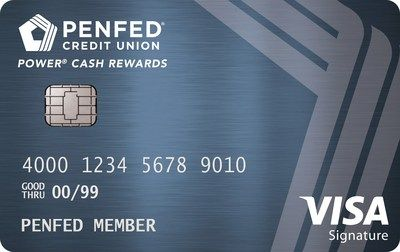 PenFed Power Cash Rewards Visa Signature Card