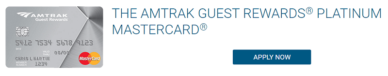 Amtrak Guest Rewards Platinum Mastercard