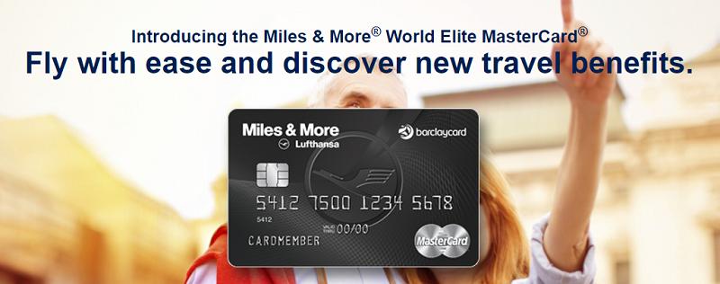 Barclaycard Lufthansa Miles & More World Elite MasterCard