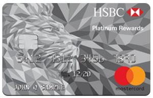 HSBC Platinum Mastercard with Rewards Card