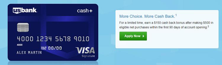 U S  Bank Cash+ Visa Signature Card Review: Earn 5 5% Cash