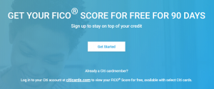 Citi FICO Score