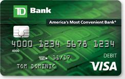 TD Bank Debit Card