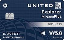 United Explorer Business Card