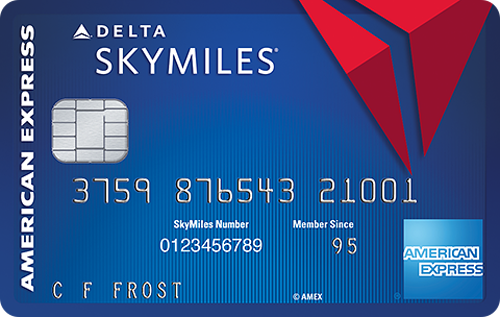 Blue Delta SkyMiles Credit Card from American Express